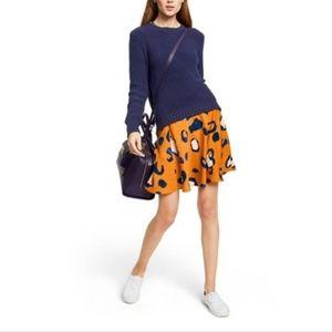 Phillip Lim for Target- leopard skirt